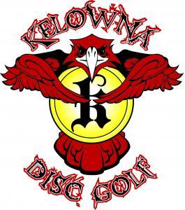 Kelowna disc golf logo sm